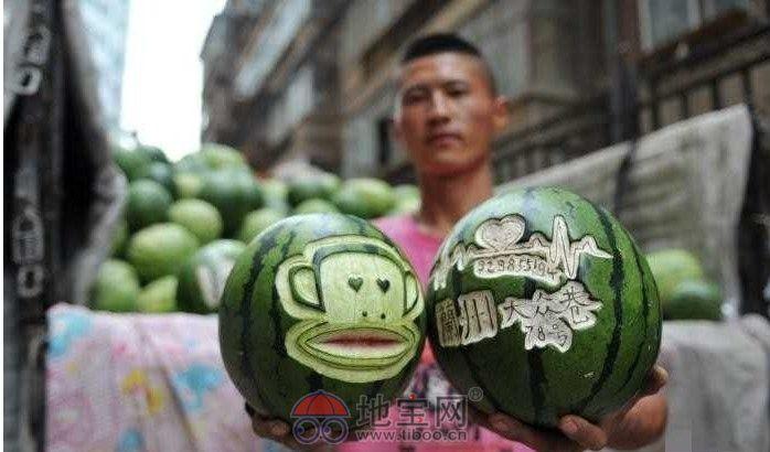 创意 尼玛/小贩逆袭卖创意尼玛卖西瓜的也能这么捣鼓啊!